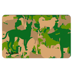 Camouflage Placemat ~ Apollo's Pack - the Pack that gives Back