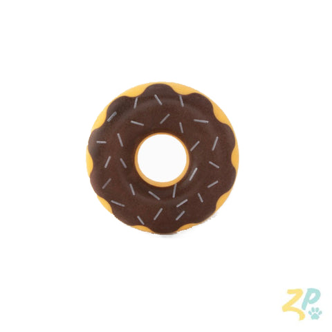 Tuff Chocolate Donut Toy ~ Apollo's Pack - the Pack that gives Back
