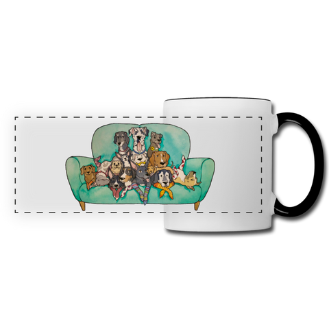 Family Couch Portrait Mug ~ Apollo's Pack - the Pack that gives Back