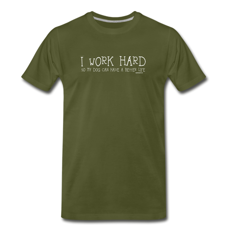 Work Hard T-Shirt ~ Apollo's Pack - the Pack that gives Back