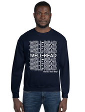 WELL-READ Sweatshirt (white lettering)