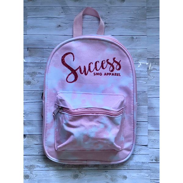 Pink Tie Dye Mini Bookbag