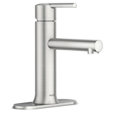 ARYLS Spot Resist Brushed Nickel One-Handle Bathroom Faucet