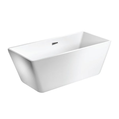 White GRETA Freestanding Bathtub
