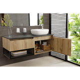 VANITY PLUS Cabinet 120 cm with Cascade Vessel RIGHT HAND