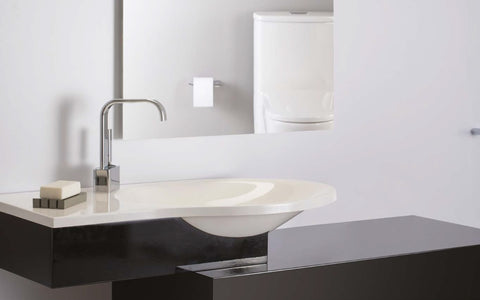 American Standard White BORNEO Intergrated Top and Basin