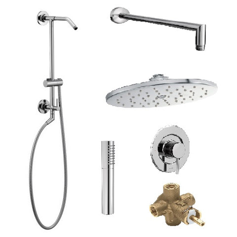 ANNEX Chrome Shower System