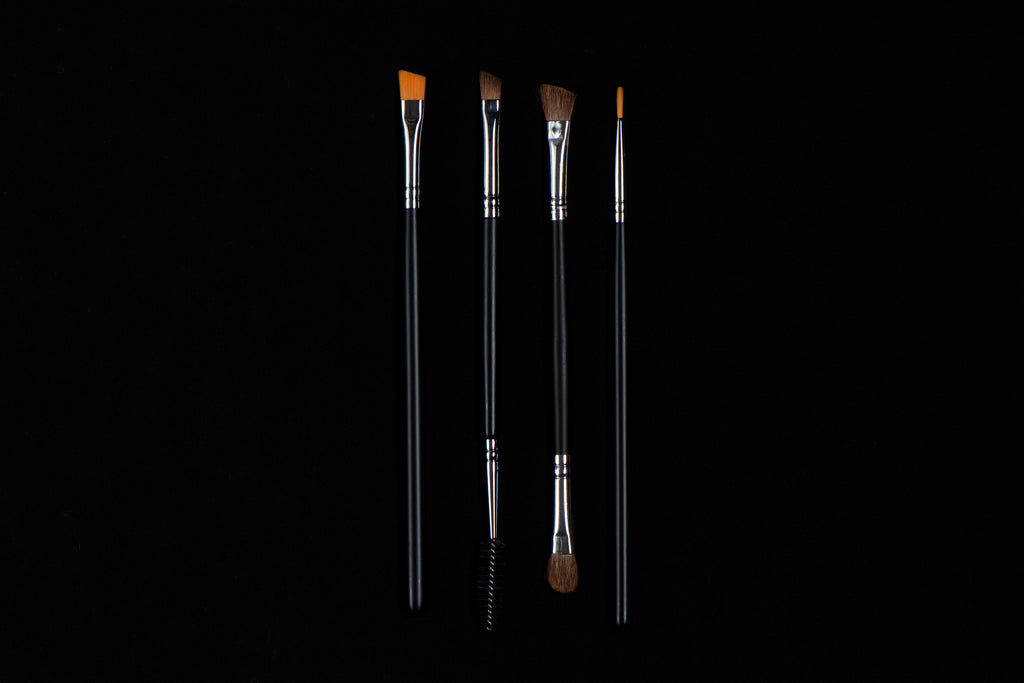 JS Eye Brushes Group Black BG - Jus Shanna Collection