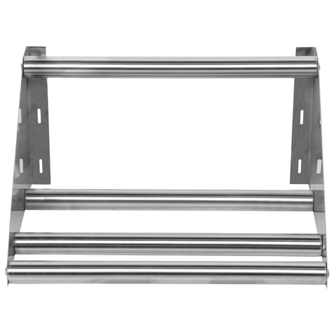 "22"" Tubular Rack Wall Mounted Shelf"