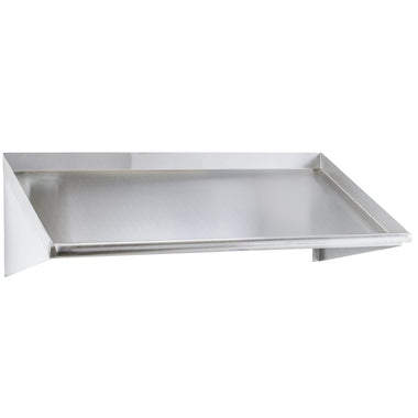 "63"" Wall Mounted Slanted Rack Shelf"