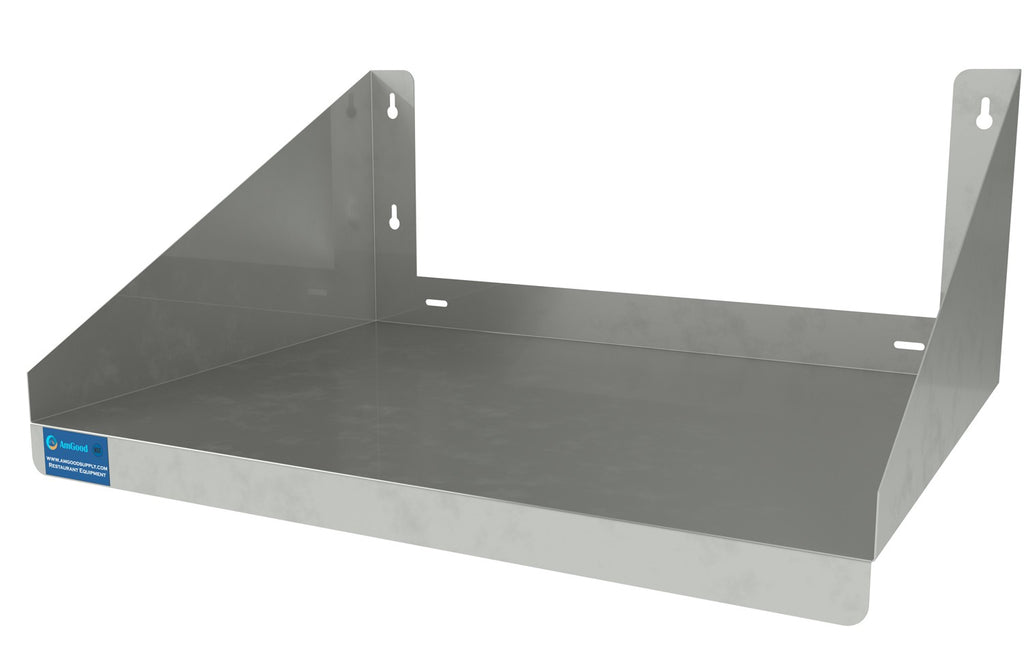 "18"" X 24"" Stainless Steel Microwave Shelf"