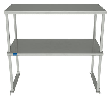 "18"" X 36"" Stainless Steel Double-Tier Shelf"