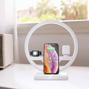 iPhone 3 in 1 Charging Dock Desk Lamp