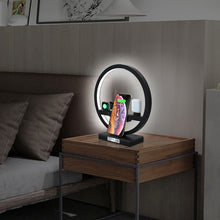 Load image into Gallery viewer, iPhone 3 in 1 Charging Dock Desk Lamp