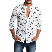 Load image into Gallery viewer, Summer 2020 men's printed casual beach shirt.