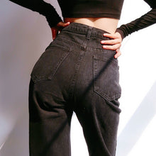 Load image into Gallery viewer, Erica Jeans in Washed Black *