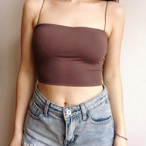 Kendall Padded Crop Top *
