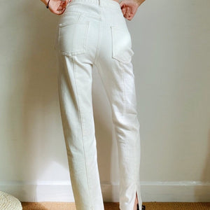 Daphne Jeans in Off White *