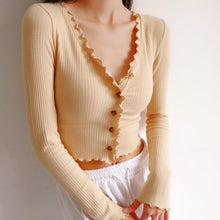 Load image into Gallery viewer, Ella Ruched Long Sleeve Top in Beige *