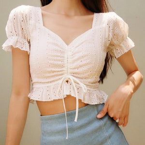 Brielle Crotchet Top