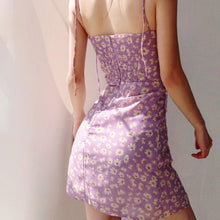 Load image into Gallery viewer, Brenda Floral Dress in Lilac
