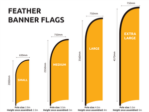 Used Cars Feather Flag Set $121.00
