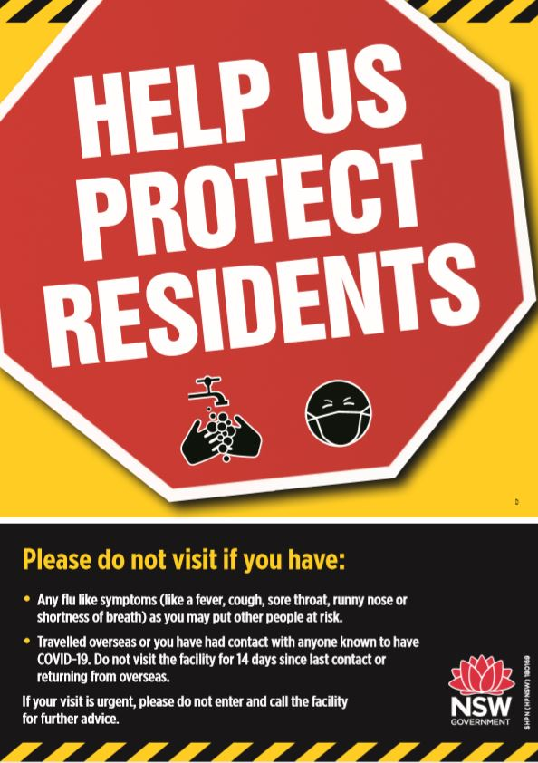 NSW - Help Us Protect Residents