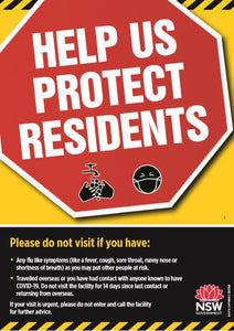 Help Us Protect Residents