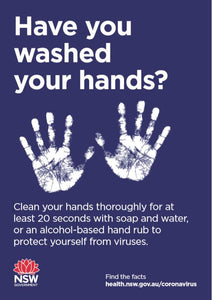 Have You Washed Your Hands