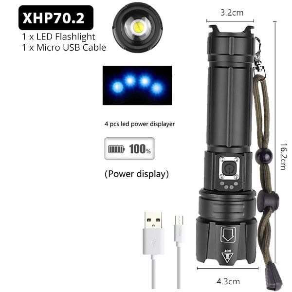 Rechargeable LED Flash Light