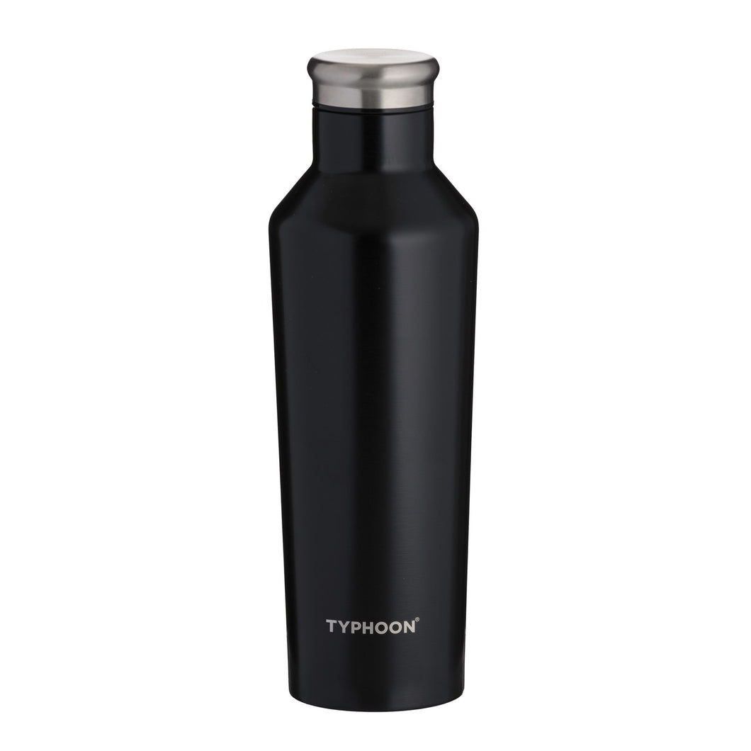 RVS thermosfles - Zwart - 500ml