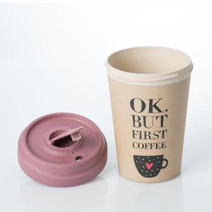 BambooCup* drinkbeker Coffee First - 400ml