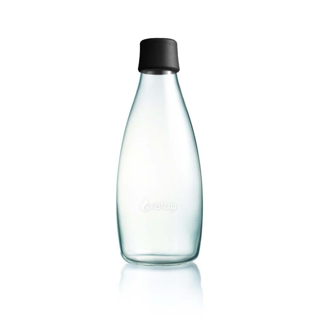Retap waterfles Zwart - 800ml