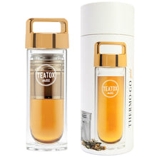 Afbeelding in Gallery-weergave laden, Thermo-Go Bottle - Gold - 330ml