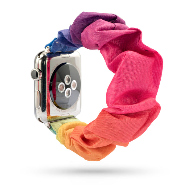 Colorful Elastic Watch Band designed for Apple Watch