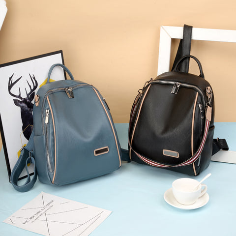 Soft Leather Backpack for Ladies
