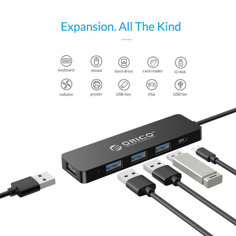 High Speed 4 Ports USB 3.0 HUB