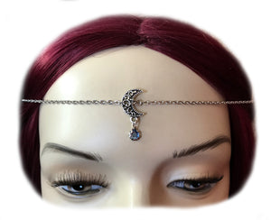 Simple Crescent Ritual Headpiece