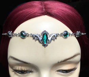 Flourish Rhinestone Headpiece