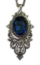 Load image into Gallery viewer, Large Victorian Filigree Pendant