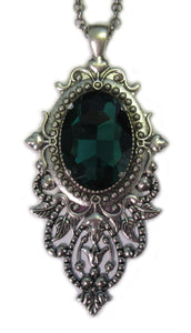 Large Victorian Filigree Pendant