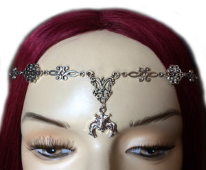 Bat Scroll Headpiece