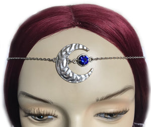 Crescent Moon Goddess Circlet