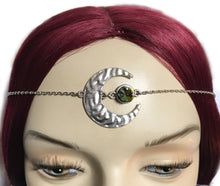 Load image into Gallery viewer, Crescent Moon Goddess Circlet