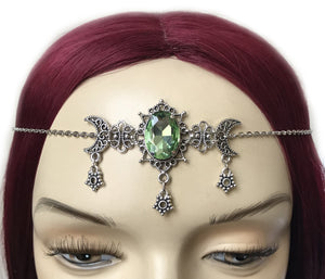 Moon & Star Filigree Circlet
