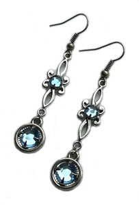 Flourish Rhinestone Earrings