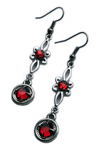 Load image into Gallery viewer, Flourish Rhinestone Earrings