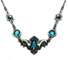 Load image into Gallery viewer, Flourish Rhinestone Necklace