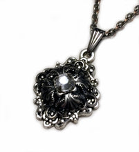 Load image into Gallery viewer, Small Gothic Filigree Caged Pendant