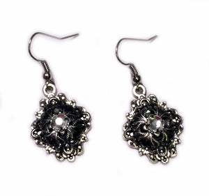 Gothic Filigree Caged Earrings